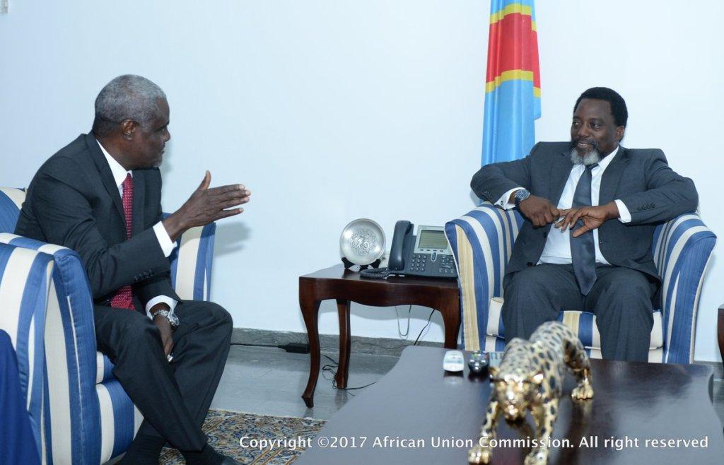 A l'UA, la RDC promet le respect du calendrier électoral fixé par la CENI