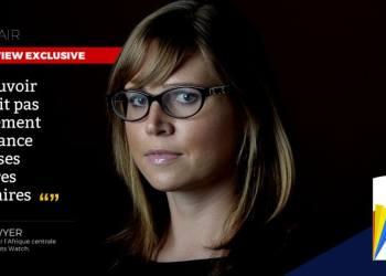 Ida Sawyer: «le pouvoir n'avait pas totalement  confiance dans ses propres militaires»