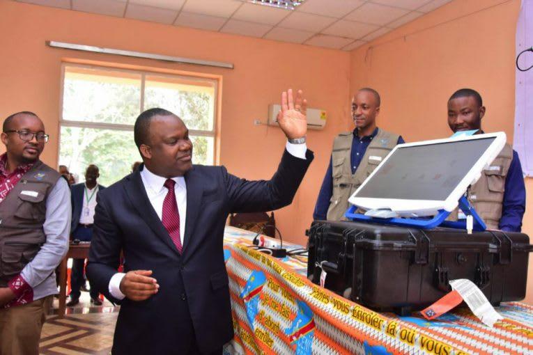Nangaa sensibilise pour la Machine à voter