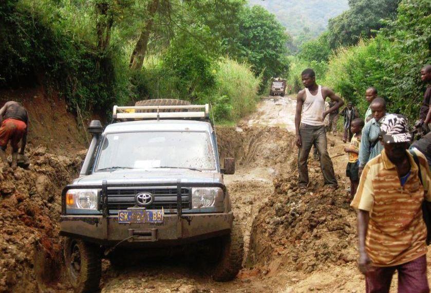 Seul 10% du réseau routier de la RDC est «en bon état»