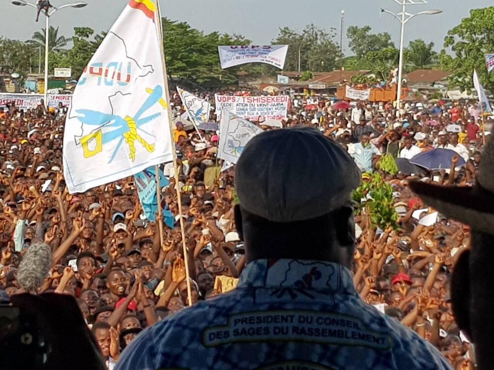 Meeting de l'UDPS: note positive du rapport de monitoring de la Nouvelle Société civile congolaise
