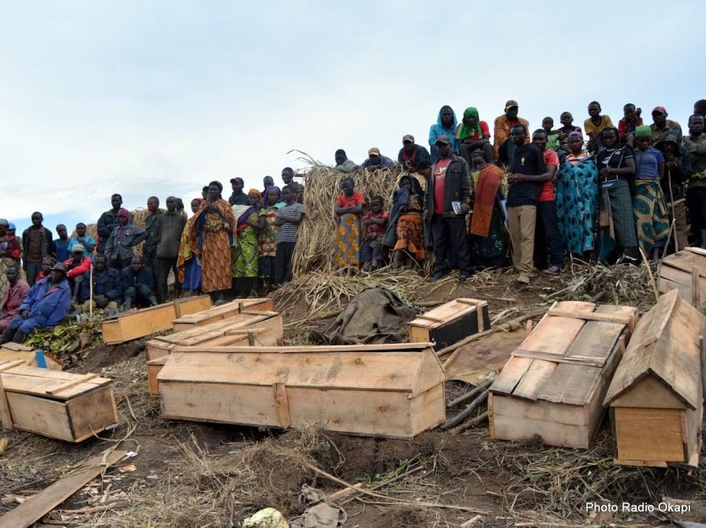Ituri: un rapport de l'ONU identifie cinq sites de fosses communes et plus de 260 morts depuis décembre