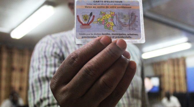 Processus électoral en RDC: la CENI lance l'opération de duplicata dela carte d'électeur