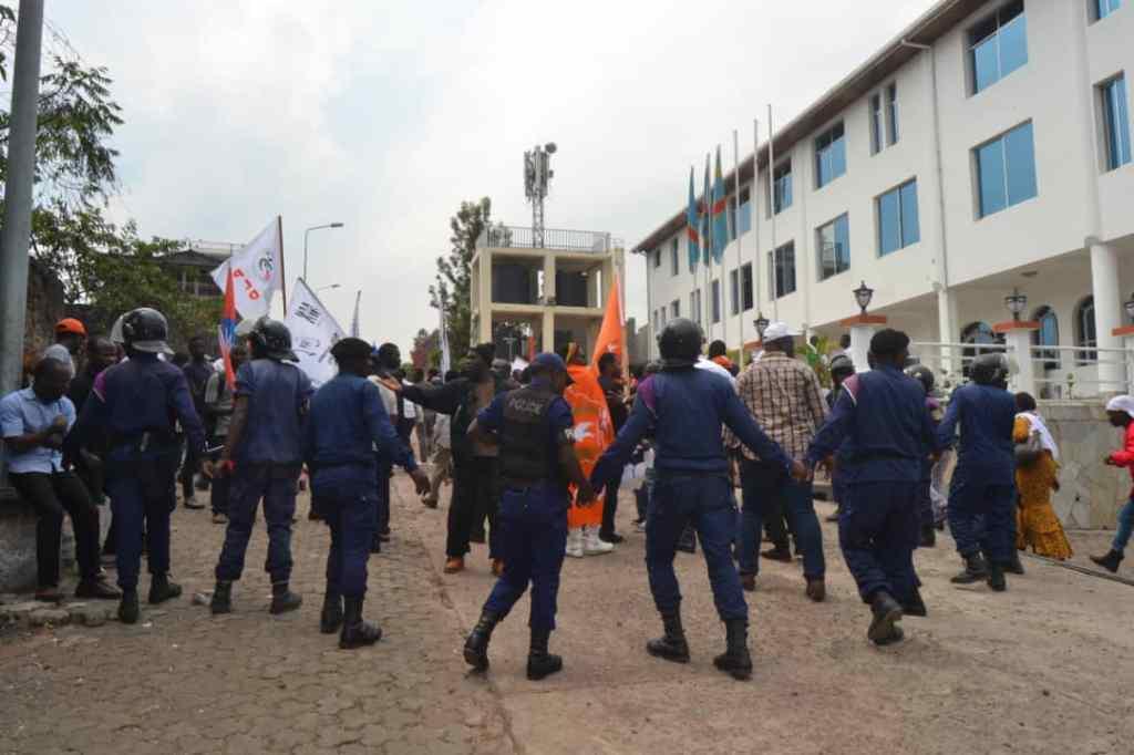 Goma: la police étouffe la campagne de collecte de fonds pour la candidature de Moïse Katumbi