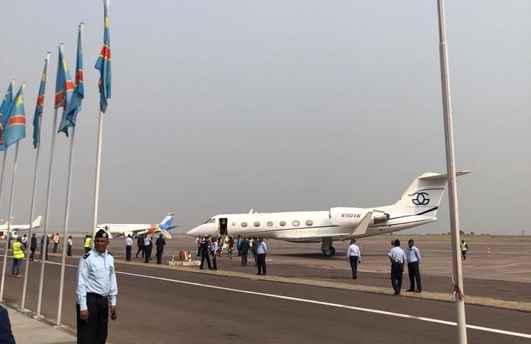 Jean-Pierre Bemba vient d'atterrir à Kinshasa!