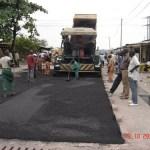 Réhabilitation des routes à Kinshasa.