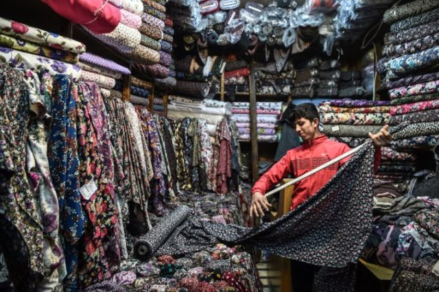 A shop in the Mahmutpasa district in Istanbul | Ozan Kose/AFP via Getty Images