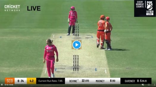 Live Cricket WBBL 2020 | Sydney Sixers W vs Perth ...