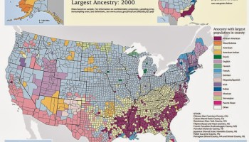 Map Religion Starkly Divides America Politically Speaking - Map of religions in us