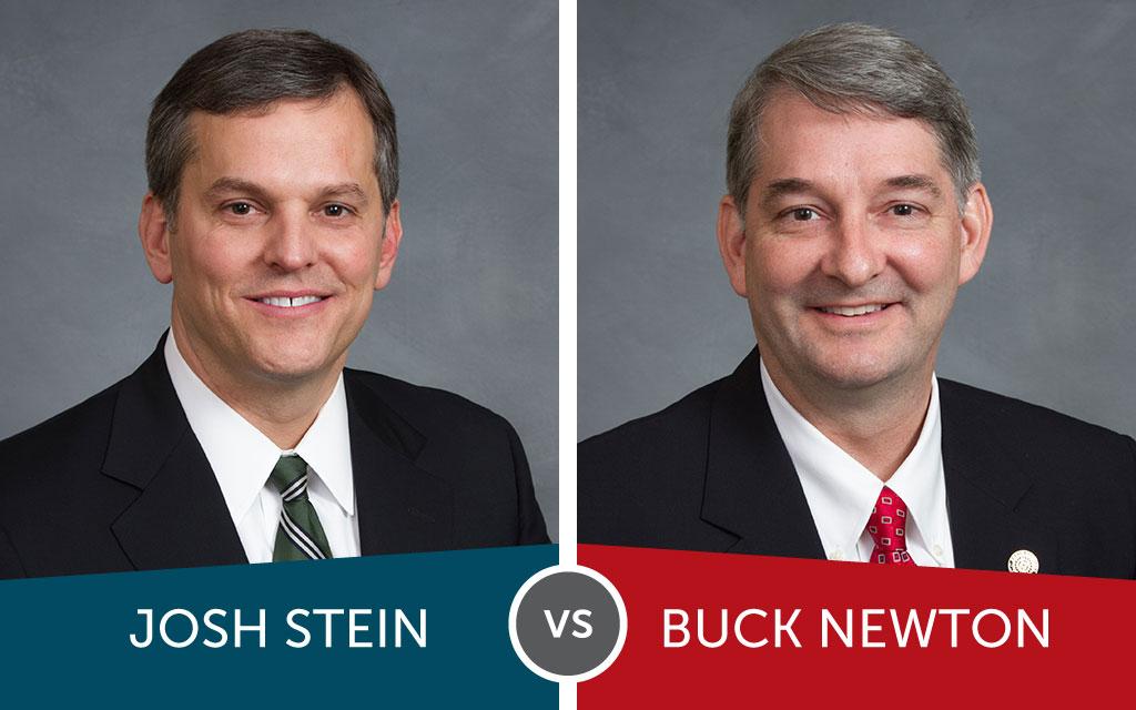 Attorney General: Stein vs. Newton
