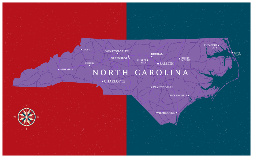What happened to North Carolina