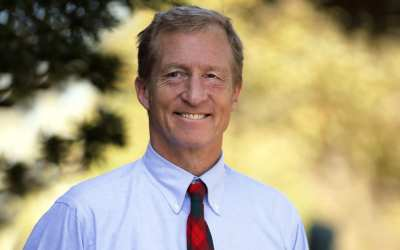 Steyer brings his vanity campaign to North Carolina