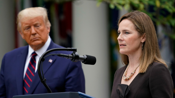 Amy Coney Barrett gives Democrats a reason to vote like they mean it