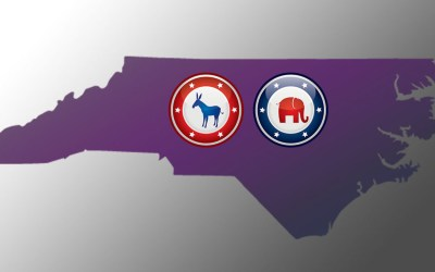 Red or purple, North Carolina is fundamentally competitive
