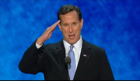 Rick Santorum Convention