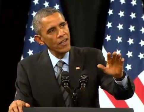 President Obama Teaches A Heckler About Respect During Las ...