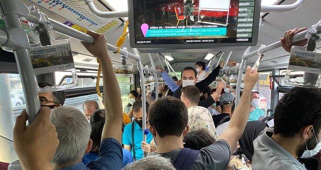 İBB: Ayakta yolcu yasağını uygulamak için 6 bin otobüse daha ihtiyaç var