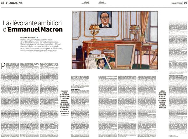 Macron président des riches