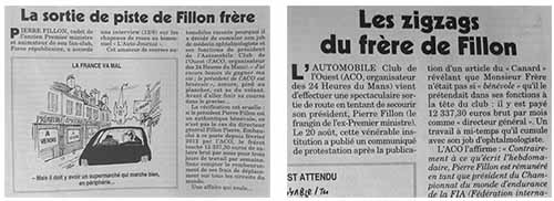 Pierre Fillon - Canard enchaîné