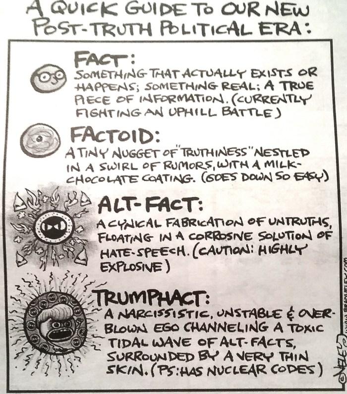 Petit guide de la « post-vérité ». Phil Venditti/Flickr, CC BY