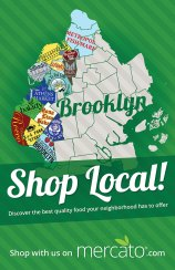 """Shop Local"" poster"