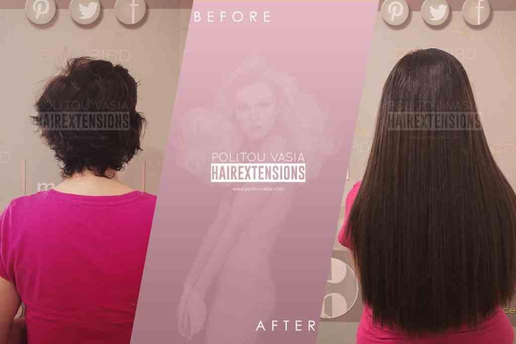 hair extensions athens thessaloniki microrings politou vasia