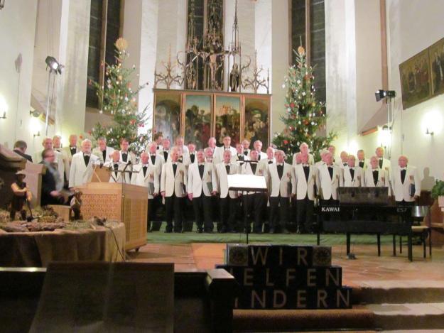 Andrea Wurzer, Sopran und Professor Norbert Düchtel, Orgel