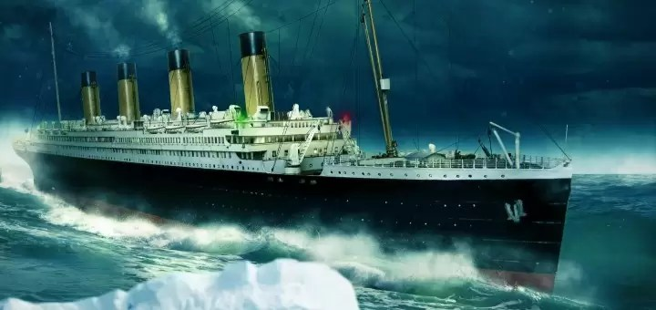 titanic statek