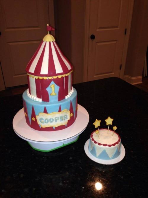 Kid S Birthday Cakes Polka Dot Apron Sweets