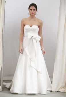anne barge Bridal Market April 2010
