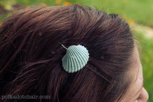 Painted Seashell Craft Ideas And DIY Jewelry And Hair