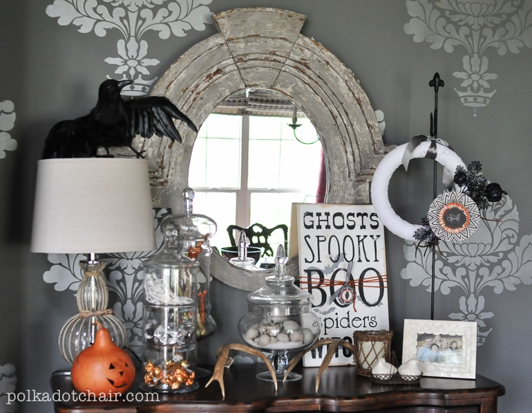 DIY Halloween Wreath Ideas Ps Its Interchangeable