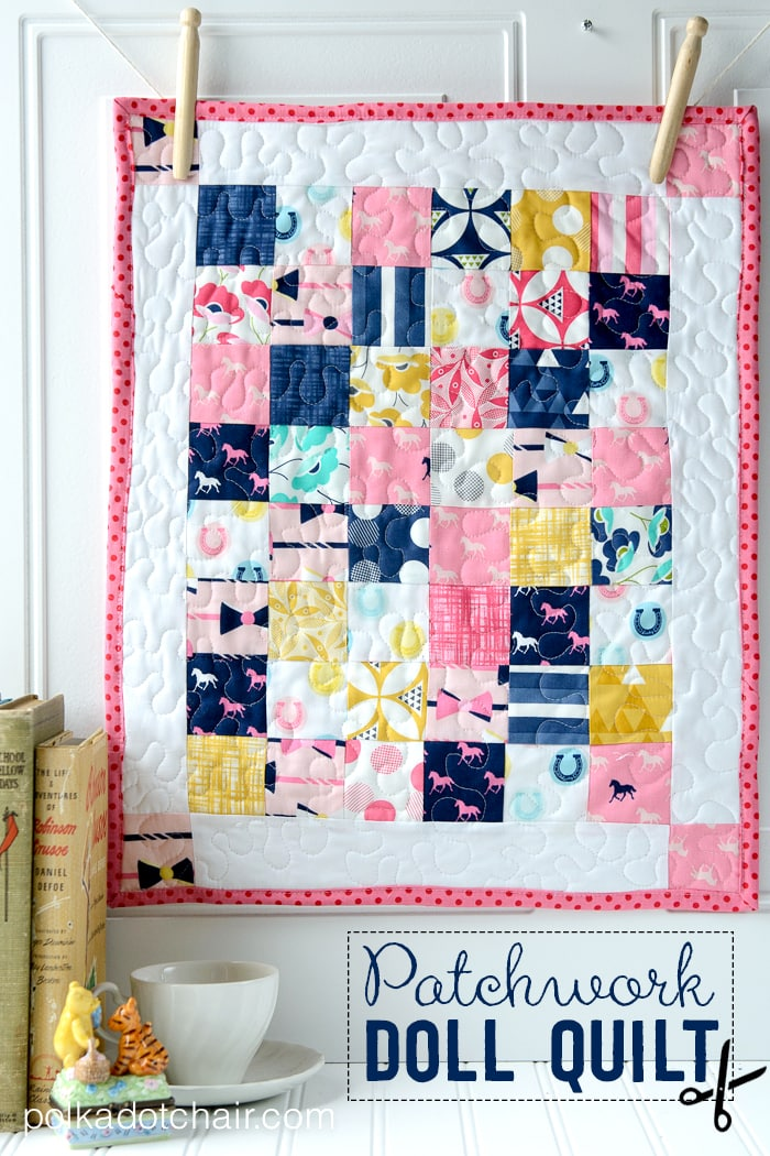 Patchwork Doll Quilt Tutorial Found On Polkadot Chair Blog