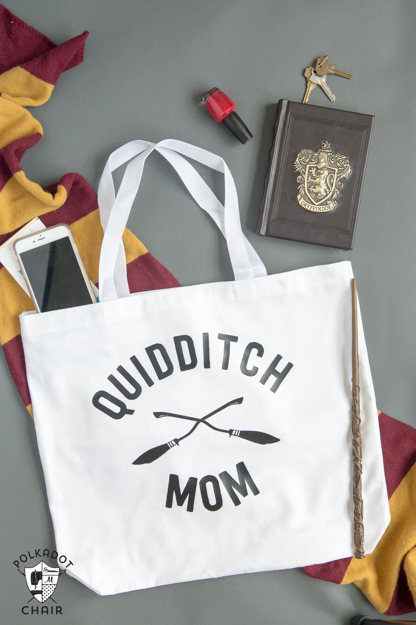 Quidditch Mom Tote And Other Harry Potter Crafts