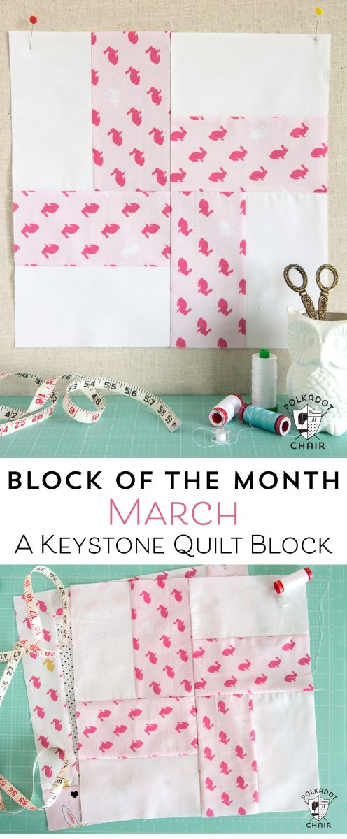 March Block Of The Month A Keystone Quilt Block Page 2