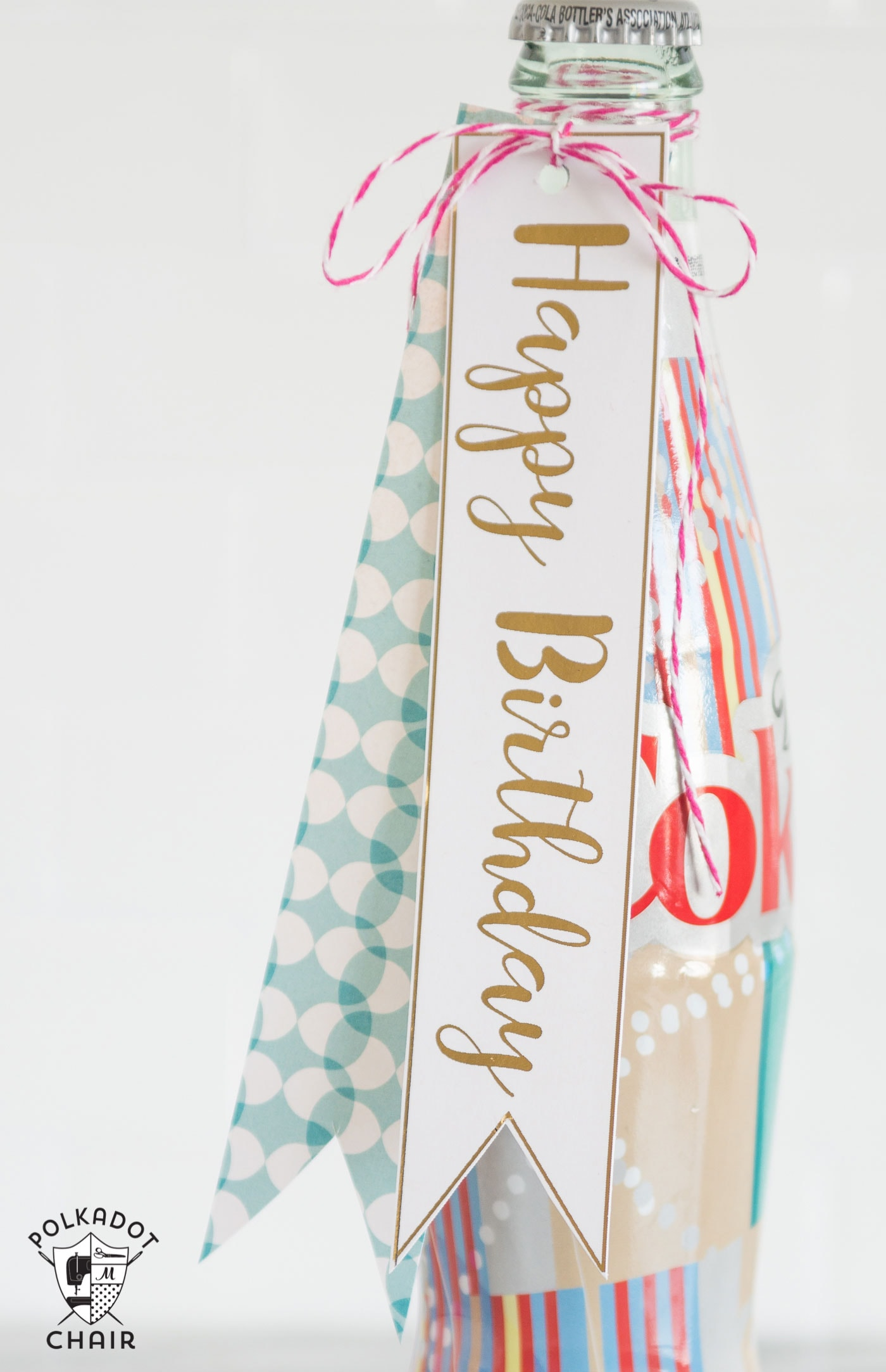 Free Printable Bottle Tags The Polka Dot Chair