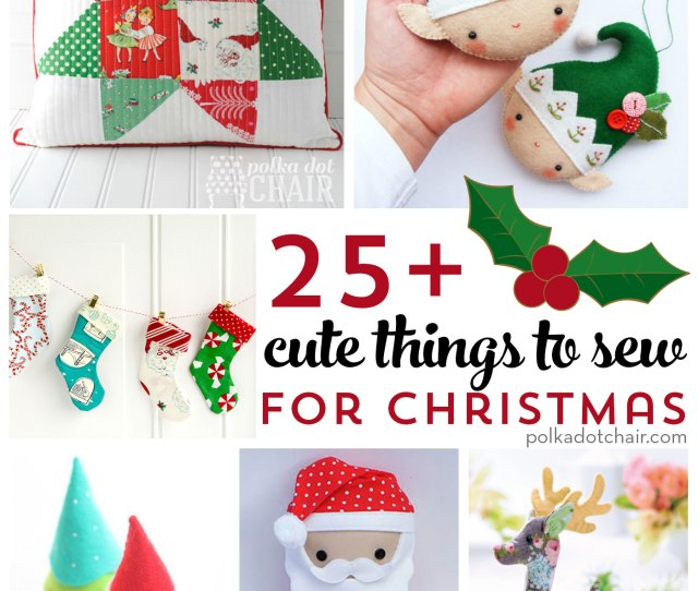 From Stockings To Pillows To Ornaments And Decorations More Than  Cute Things