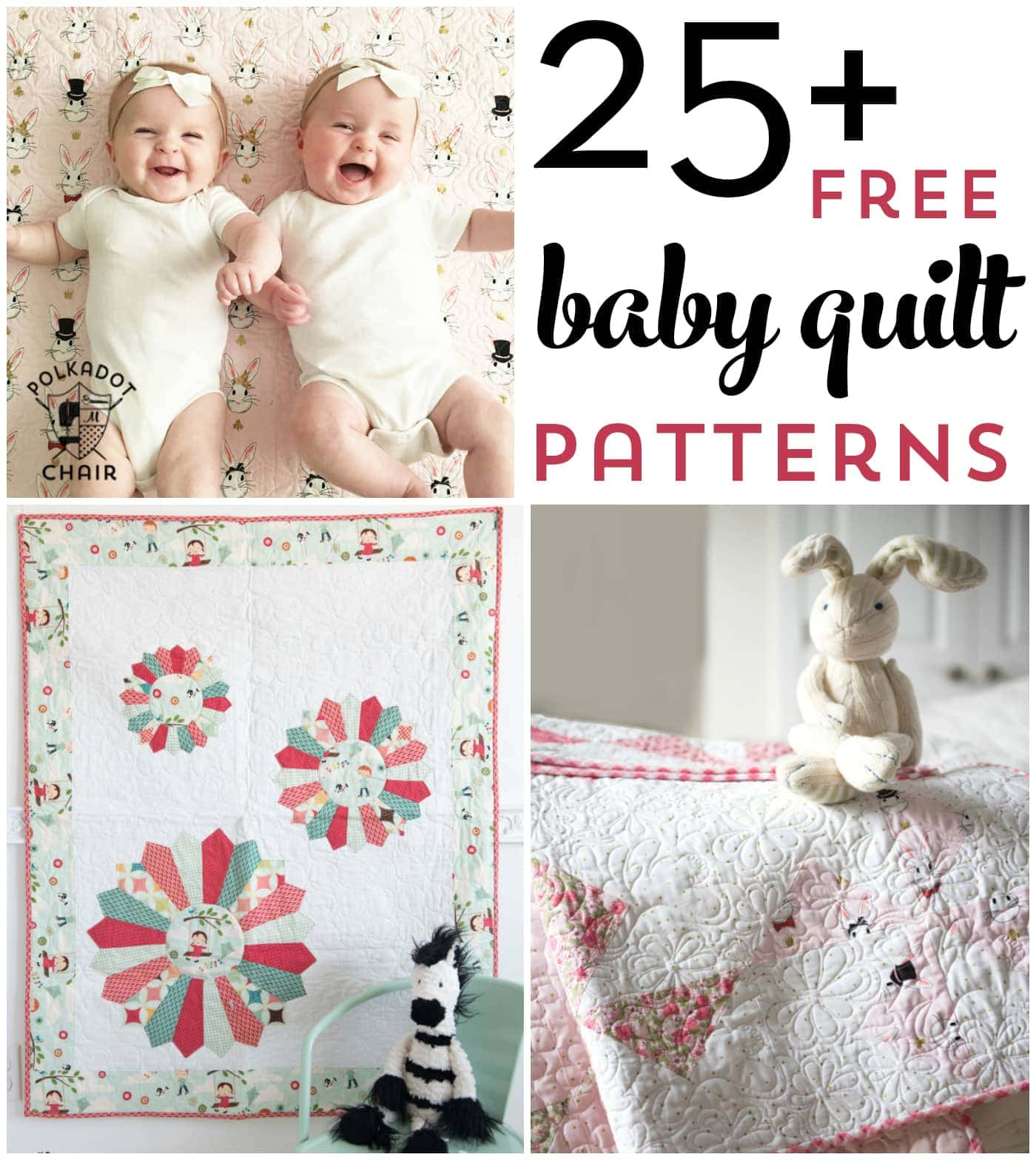 25 Baby Quilt Patterns