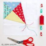 Foundation Paper Piecing Tutorial For Beginners With Free Kite Paper Piecing Pattern The Polka Dot Chair