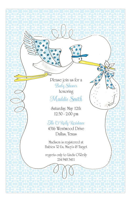 Baby Shower Invitations Princess