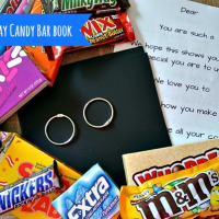 Father's Day Candy Bar Book
