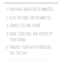 Summer To Do List For The Kids