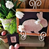 Simple Easter Bunny Craft