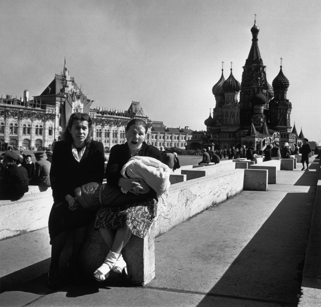 Place Rouge, Moscou, URSS, 1947.