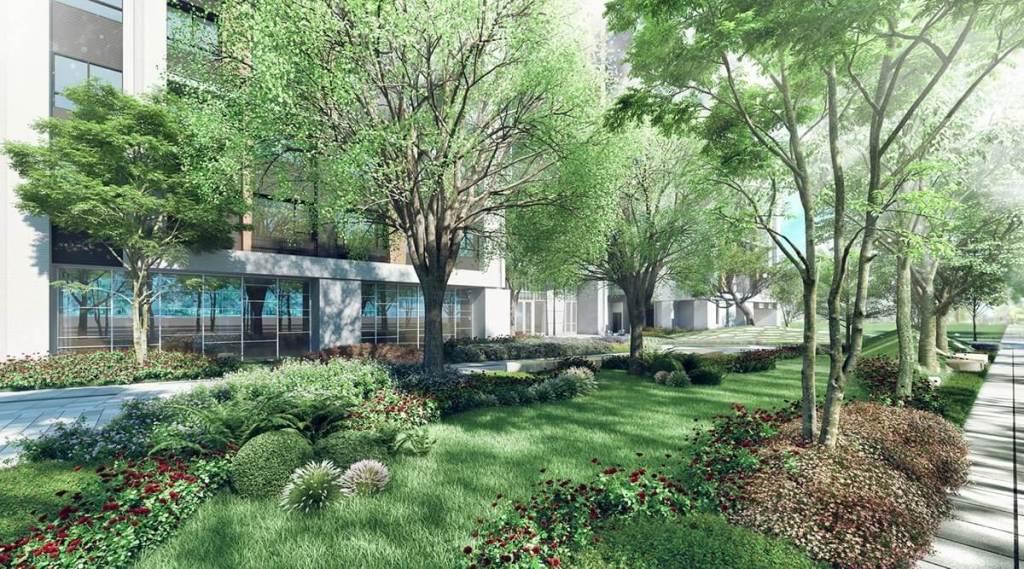 「精銳潮」位處高鐵綠活特區榮和路,乾淨筆直的街道、全新的建築,還有就是綠地覆蓋率高!