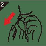 Poll-tex口罩使用步驟二