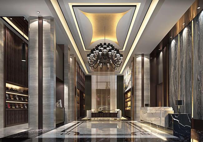 【富宇凡爾賽】一樓挑高接待大廳,回家如同飯店