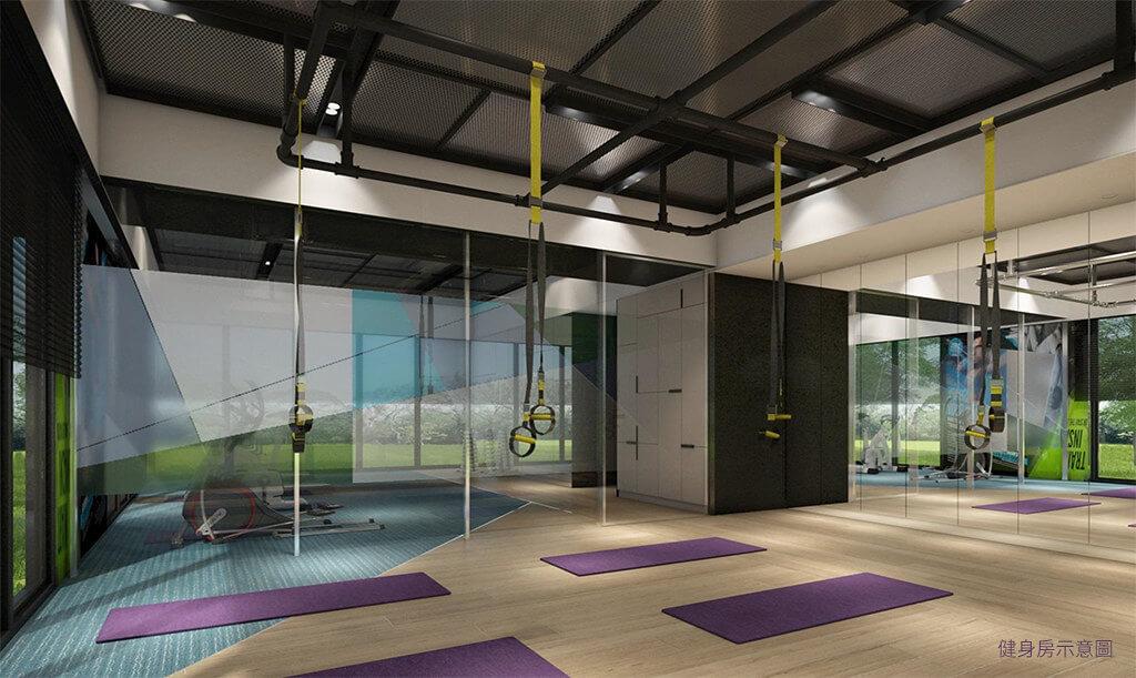精銳IN未來公設空間健身房