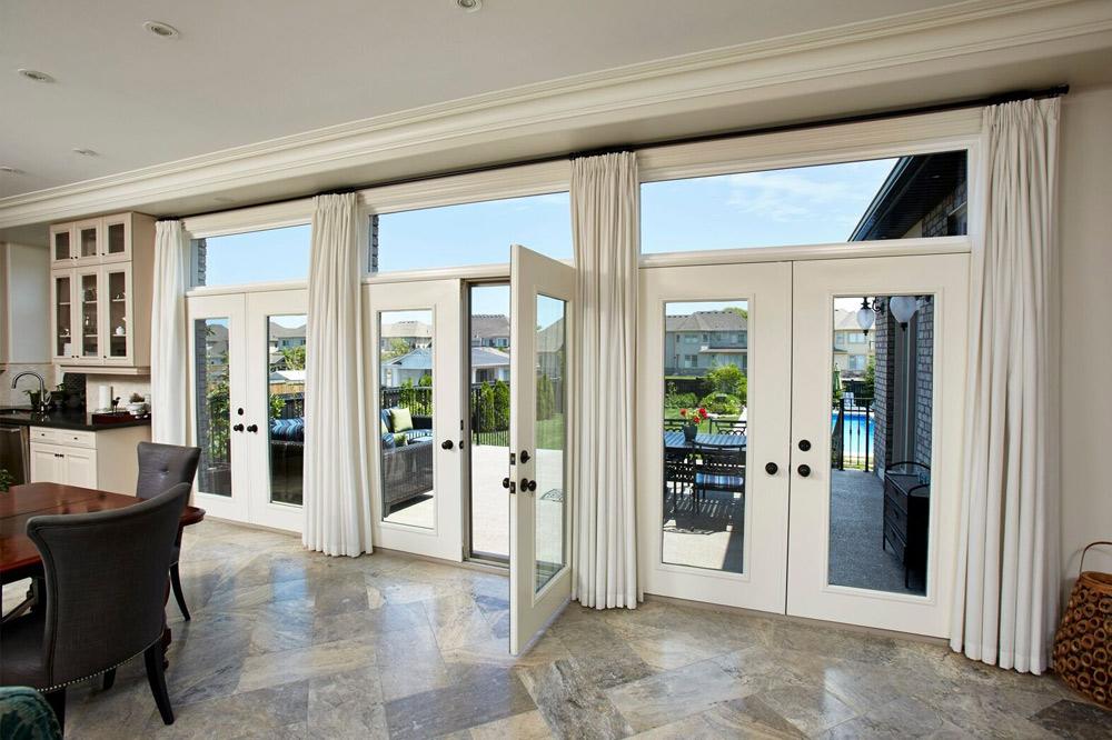 exterior terrace patio doors pollard