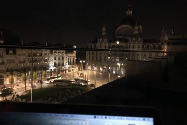 Blogging from the Indigo hotel in Antwerp